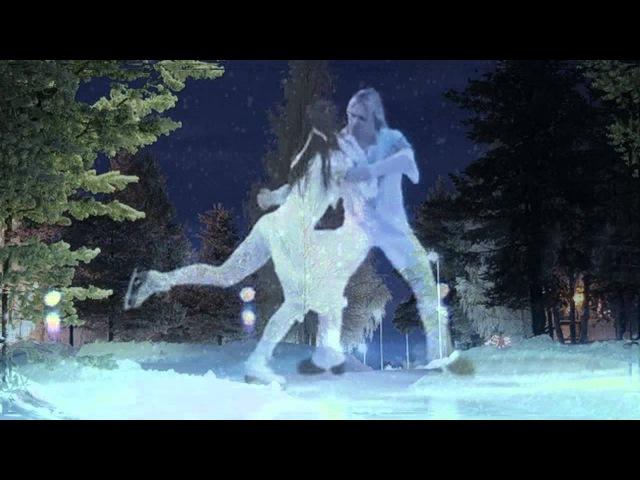 """Christoph Gluck. Две души. Мелодия из оперы """"Орфей и Эвридика"""". Танец на льду исполняют Алиса Гребенщикова и Максим Ставиский."""