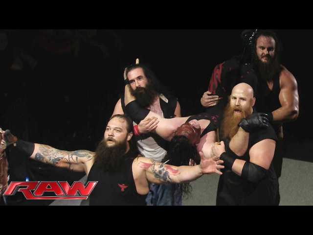 [WBSOFG] The Wyatt Family overpowers Demon Kane: Raw, October 26, 2015
