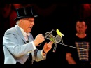 Norman Barrett MBE and his amazing budgies Zippos Circus