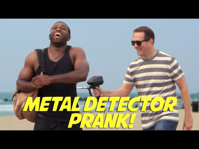 MediocreFilms - METAL DETECTOR PRANK!
