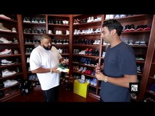 Complex Closets: DJ Khaled показывает свой шкаф с кроссовками