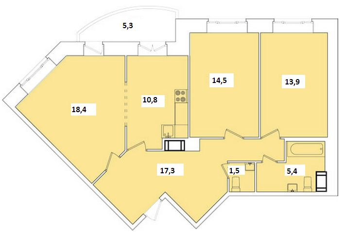 """ЖК """"Невский стиль"""" - комплекс сдан! Продается 3х ком.квартира. Фермское шоссе 20 к.2 E0ix8QmEuuI"""