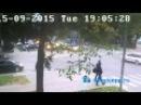 Видео момента ДТП в Кингисеппе с веб-камеры. Проклятый перекресток у полиции KINGISEPP