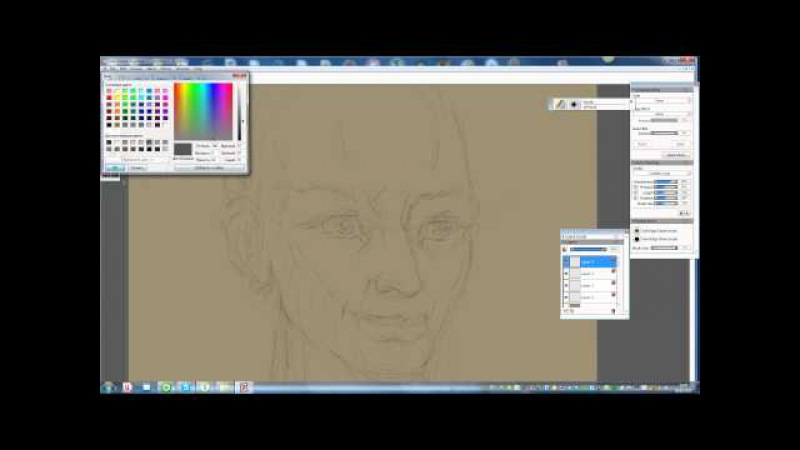 Corel painter рисуем урок-1 nnm-club.ru/forum/viewtopic.php?t=85042 можно скачать тут