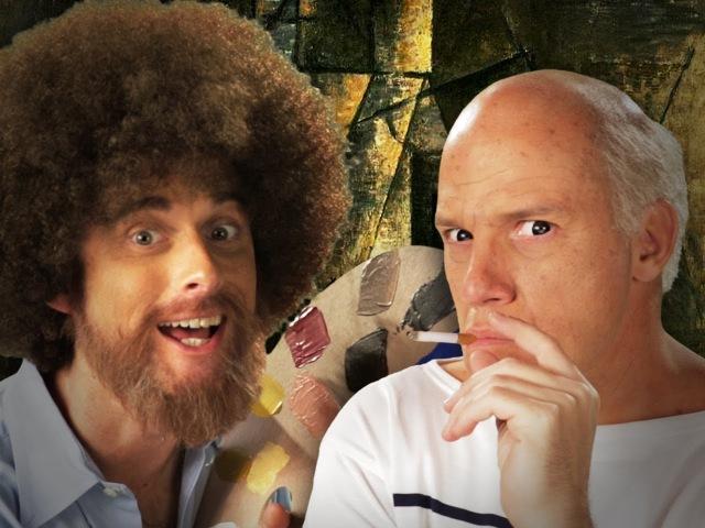 Bob Ross vs Pablo Picasso Epic Rap Battles of History Season 3