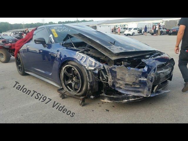 7Sec GTR CRASH! Unseen Footage