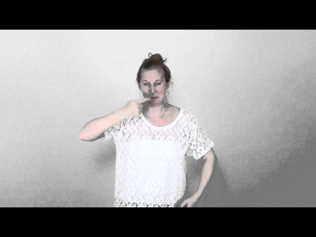 Teckenspråk i sång - Det finaste någon kan få - Molly Sandén - Teckenspråksartist Rosell