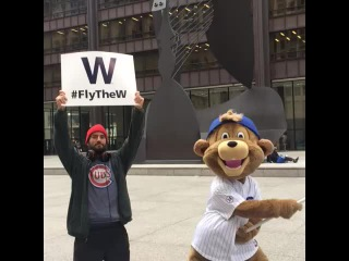 Next stop, with a special guest! Thanks to CM Punk for helping us #FlyTheW!