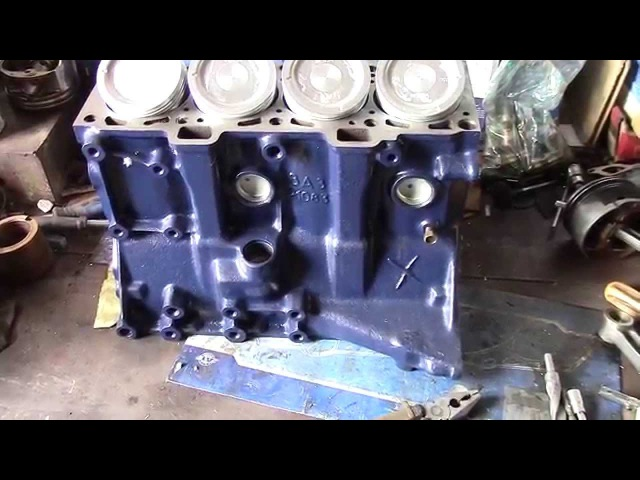 Lada Samara Толстостенный блок цилиндров ВАЗ 21083 с поршнями SUZUKI (как увеличить объём двигателя