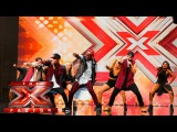 The First Kings are too hot! Auditions Week 1 The X Factor UK 2015