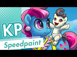Speedpaint 55 - Cup Cake and Pound Cake