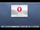 Navegador opera en Mac os
