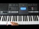 Работа Секвенсора на Yamaha PSR E423 Часть 1 by Toffa Alimoff