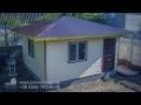 Быстрое строительство каркасный дом за одну минуту
