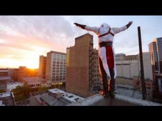 ☠ПАРКУР АСАСИН НЕРЕАЛЬНО КРУТО Assassin's Creed Meets Parkour in Real Life ☠