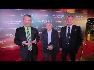 Российские космонавты МКС рецензируют фильм Марсианин (The Martian) с Мэттом Дэймоном