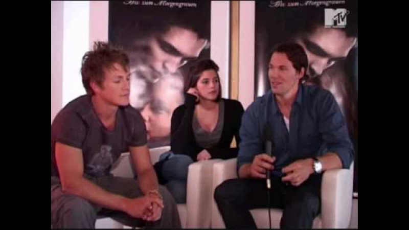 Mtv Germany interview with Ashley Greene, Charlie Bewley and Dan Cudmore PART1