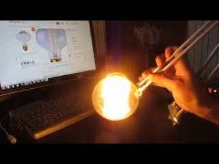 Лампа Эдисона - ретро лампы в стили стимпанк - винтажная лампа