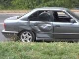 В Хмельницком BMW Врезался В Троллебус.