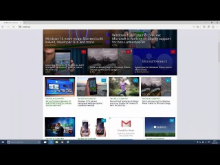 Windows 10 Build 10049 - Spartan, App Updates