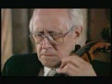 Rostropovich plays the Sarabande from Bach's Cello Suite # 1