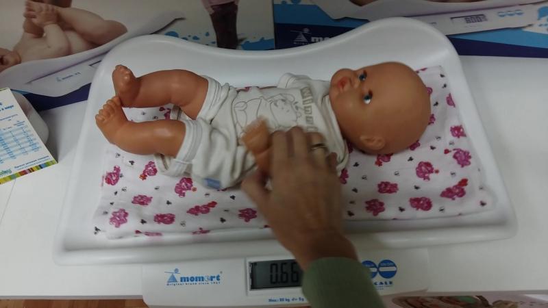 Как в домашних условиях взвесить новорожденного