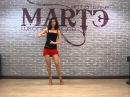 Бачата основной шаг - видео урок школы танцев МАРТЭ