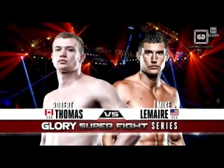 GLORY 18 Superfight Series - Robert Thomas vs. Mike Lemaire (Full Video)
