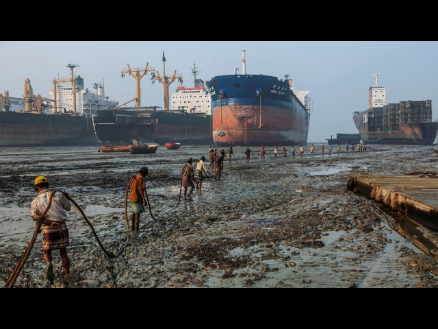 Where Ships Go to Die Workers Risk Everything National Geographic