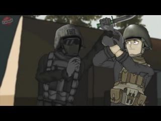 Друзья по Battlefield – Контр-нож (4 сезон, 2 серия) / PlayGround.ru