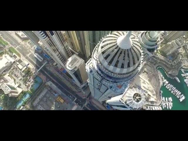 Захватывает дух даже от просмотра! Бейсджампинг. Base jumping (Dubai)