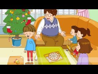 Простые Диалоги Английский Язык - Wash your hands! Let's eat pizza!