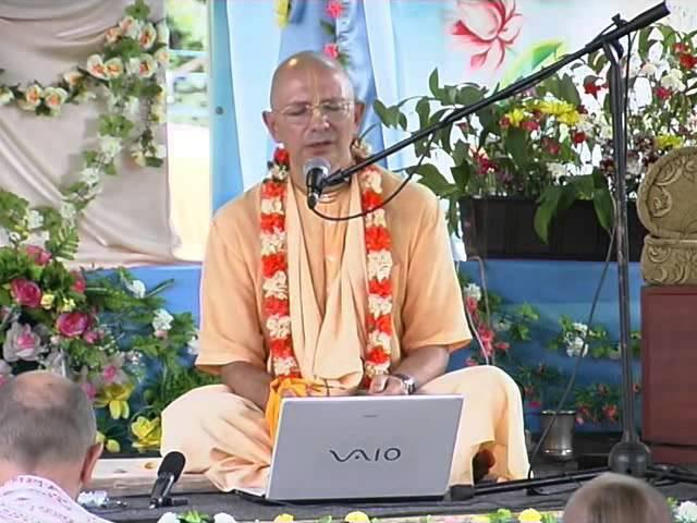 Бхакти Вигьяна Госвами Видео джапа 8 минут