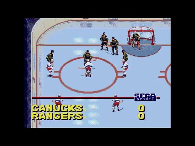 NHL All-Star Hockey 95 ... (Sega Genesis)