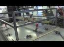 Изготовление металлического каркаса для садков