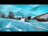 Первое знакомство с горным снегоходом (Приисковый. Часть 1)
