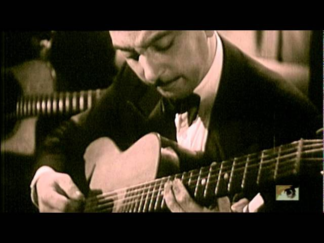 Django Reinhardt Three-Fingered Lightning. One true genius