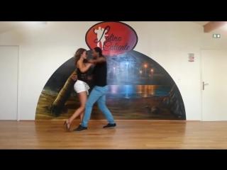Офигенный танец Кизомба! JD DECEUS MARION - KIZOMBA SHOW - NEW GENERATION STYLE