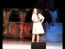 Всероссийский состязание вокалистов г. Новокуйбышевск. Лиза поёт песню бери молдавском языке .