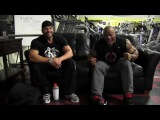 Phil Heath Post Workout Q&A with Marc Lobliner 3 Weeks Out From The Mr. Olympia!