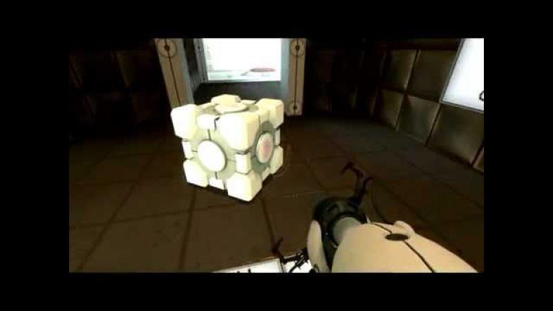 Companion Cube whyyyyyyy