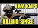 DesertFox Airsoft: KWA KMP9 Killing Spree (GamePod Combat Zone)