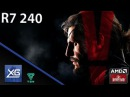 METAL GEAR SOLID V THE PHANTOM PAIN On AMD Radeon R7 240 2GB GDDR3 MAP SIZE Windows10
