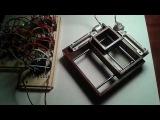 Micro Mini CNC Plotter - Part 1 - XY Using DVD Steppers