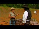 Очень быстрая зарядка помпового ружья в исполнении Jessie Abbate.