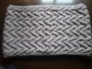 Как связать снуд спицами Образец Узор How to tie a scarf pattern
