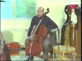 Janos Starker and his organised method of string playing including a complete Cassado-Suite