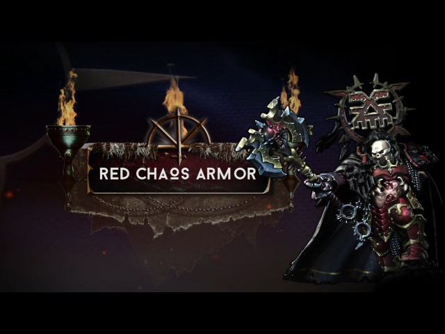 Age of Sigmar - Korghos Khul - Chapter 4 - Red Chaos Armor