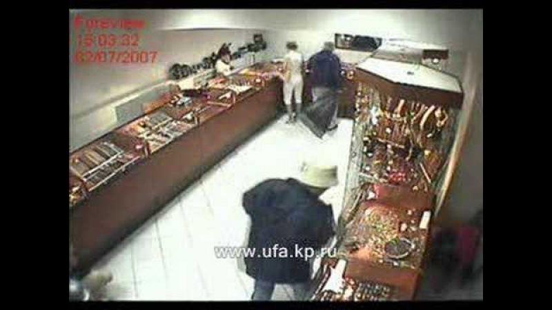 Ограбление ювелирного магазина Клондайк в Октябрьском