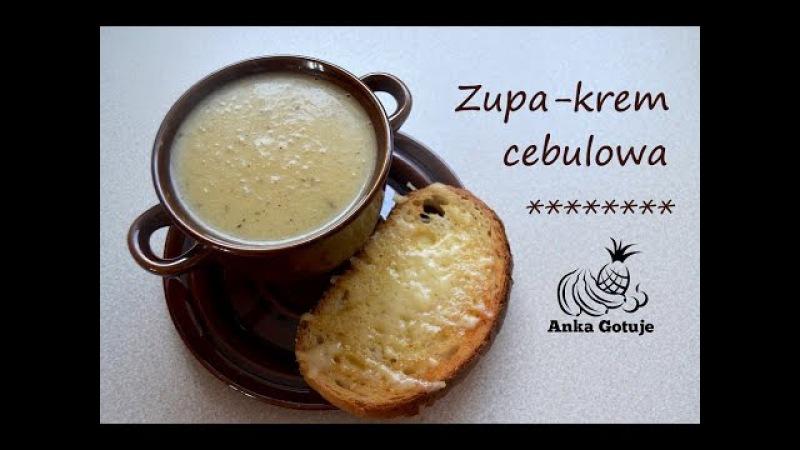 Zupa-krem cebulowa